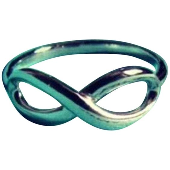 Pre-owned Tiffany Infinity Silver Ring Size 6 ($185) ❤ liked on Polyvore featuring jewelry, rings, accessories, none, silver rings, silver jewellery, pre owned rings, tiffany & co ring and pre owned jewelry