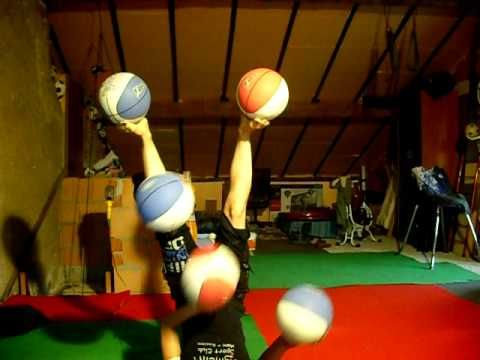 Girl Juggles Five Basketballs While Upside Down, Is Awesome (VIDEO)