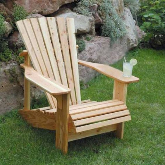 selbst gebauter adirondack chair garten pinterest st hle adirondack st hle und b ren. Black Bedroom Furniture Sets. Home Design Ideas