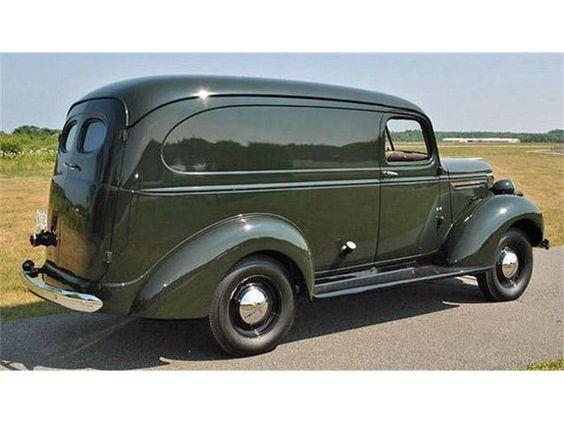 1940 Chevrolet Sedan Delivery.