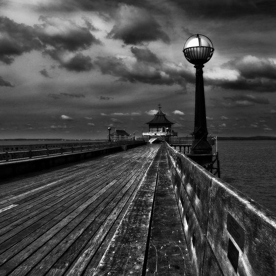 Pier... by Jem Salmon, via Flickr