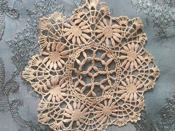 Beautiful Vintage Handmade Doily