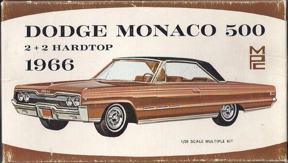 1/25 MPC 1966 Dodge Monaco 500   2+2 Hardtop