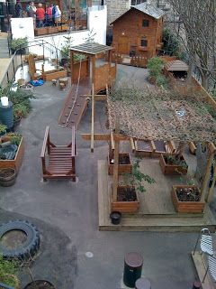 I'm a teacher, get me OUTSIDE here!: Outdoor Play at Cowgate Under 5's Centre