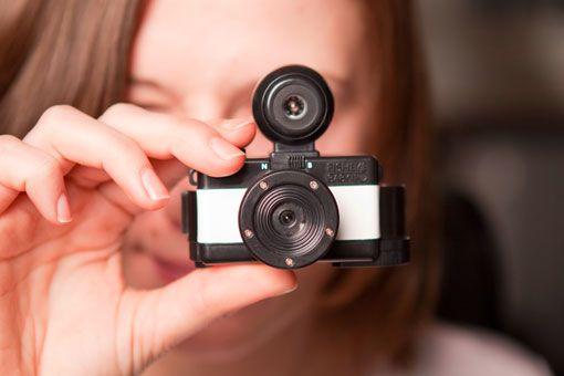the Fisheye Baby 110 camera. How cute!