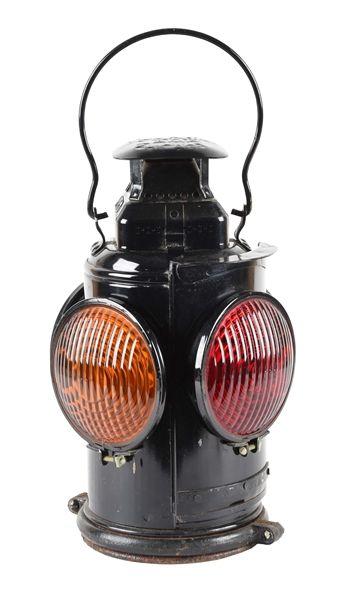 Vintage Adlake Railroad Lantern, Train Lantern Lamp