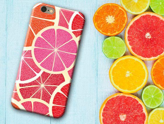 Orange, rose Orange, coque iPhone 6, monogramme iPhone 6/6 s/6 Plus / 6 s Plus / 5 s - samsung s6, étui de téléphone, cadeau fête des mères