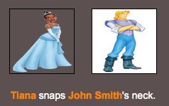 BATTLE ROYALTY Day 0; the bloodbath  Pt7 Jesus, Tiana! D:  #HungerGamesSimulator #Disney