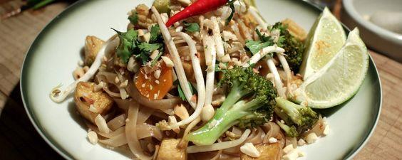 Veg Pad Thai mit Tofu & Gemüse