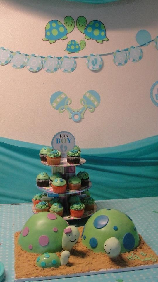turtle themed baby shower baby shower pinterest cute cakes
