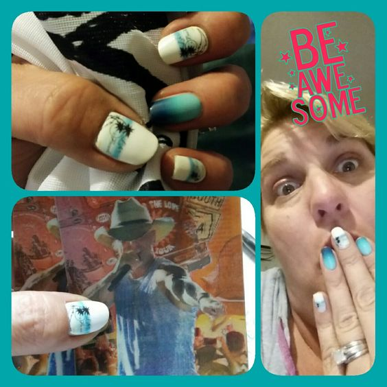 Life's A Beach! Jamberry Nail Art Studio changes the nail wrap game! Wear your creations on your nails! sarahibbitson.jamberry.com