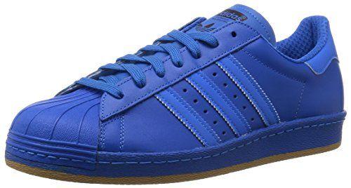 Adidas Superstar 80s Reflective Nite Jogger Sneaker B35385 Bluebird Gr. 42 2/3 (UK 8,5) - http://on-line-kaufen.de/adidas/42-2-3-eu-adidas-superstar-foundation-herren