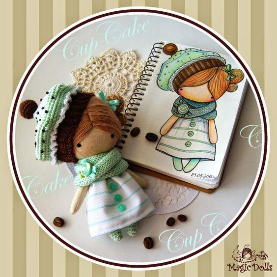 Crochet Dolls Hat Pattern : Crochet dolls, So cute and Crochet on Pinterest