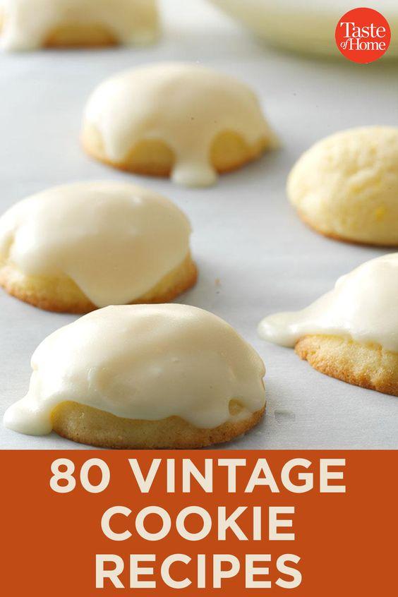 80 Vintage Cookie Recipes
