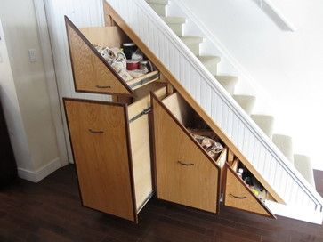 Under Stair Storage Design Ideas