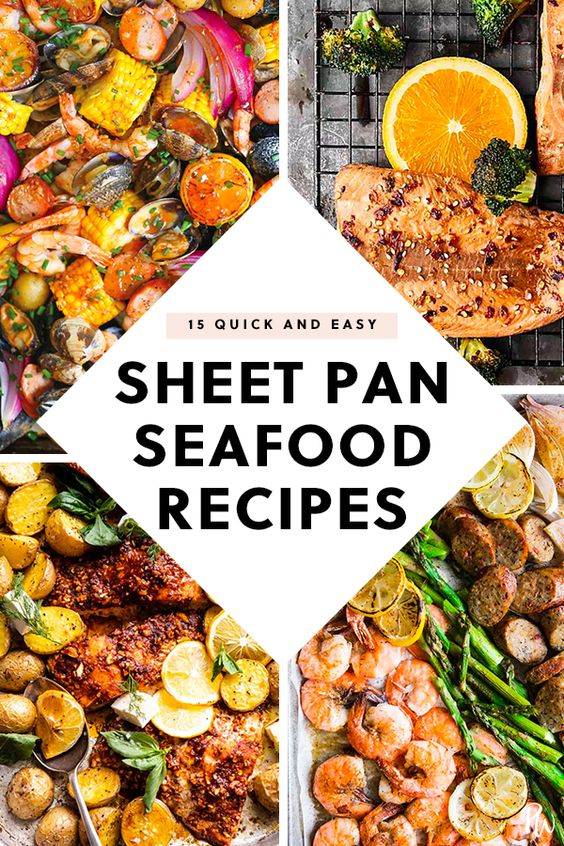 15 Quick Sheet-Pan Seafood Recipes to Try for Dinner