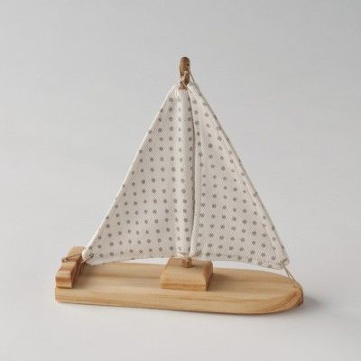 handmade wooden boats
