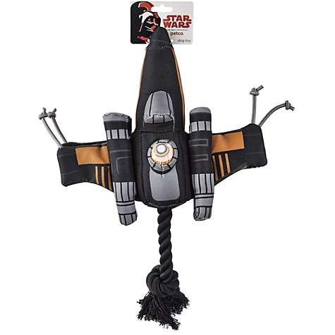 Star Wars X Wing Fighter Rope Dog Toy Petco Rope Dog Toys Dog