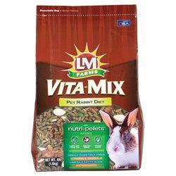 LM Animal Farms Vita-Mix Pet Rabbit Diet 4 lb | Small Animal | Pet Supermarket