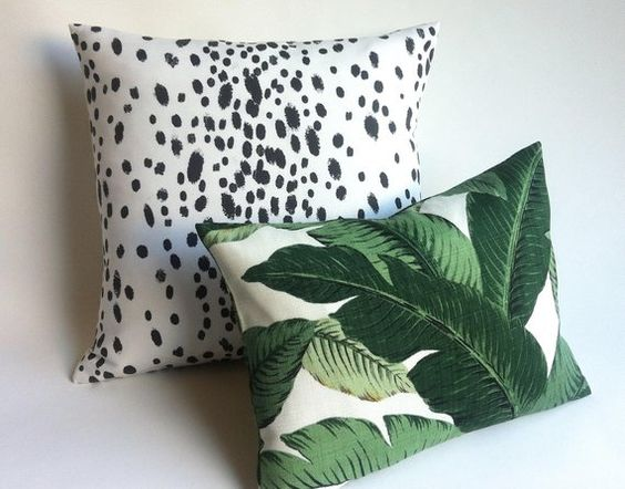 Pretty Modern Set Pillows