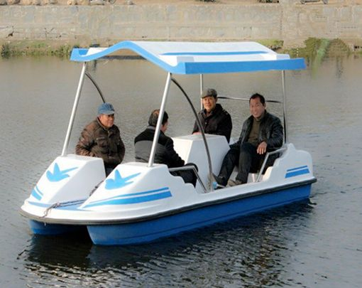 Cheap Pedal Boat With 4 Seat | Paddle boat for sale, Paddle boat, Boat