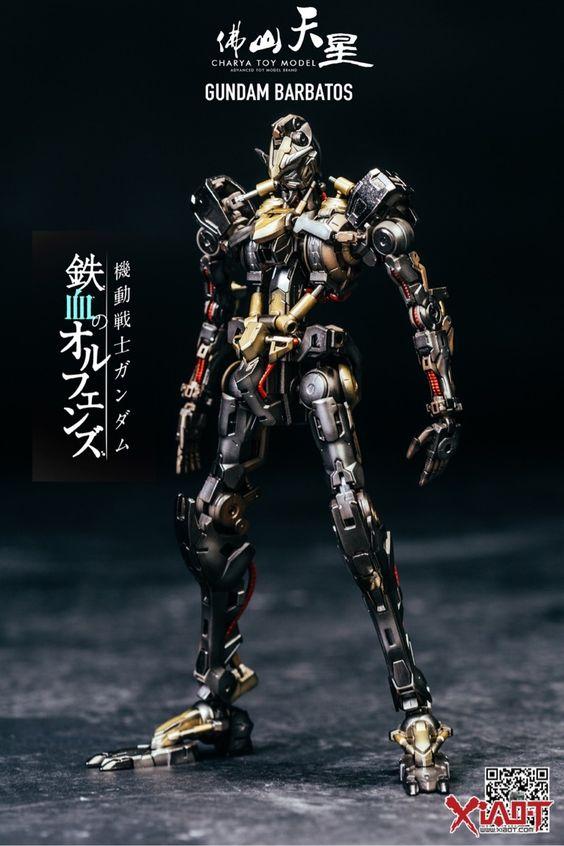 GUNDAM GUY: Hi-Resolution Model 1/100 Gundam Barbatos - Painted Build