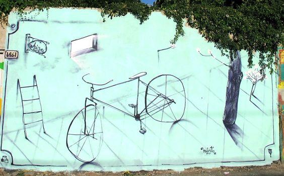 #Bicicleta #Mural #bicicletarte