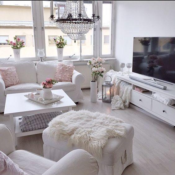 wohnzimmer in weiß. helle farben schaffen ein freundliches ... - Wohnzimmer Ideen Hell