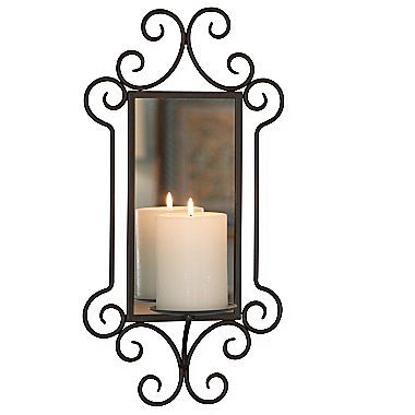 Williamsburg Mirror Candle Sconce - jcpenney Decorations Pinterest Sconces, Candle sconces ...