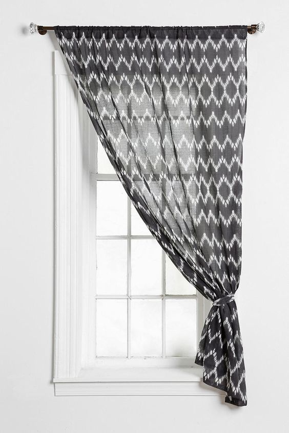 Magical Thinking Chevron Curtain