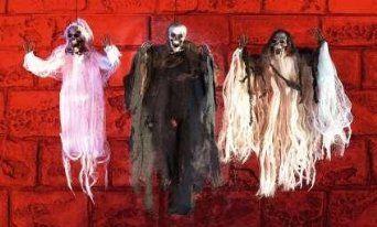 Halloween Hanging Demon Decoration: Amazon.co.uk: Toys & Games