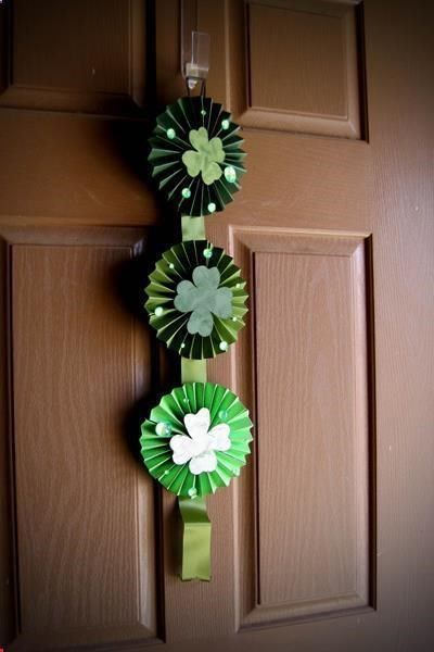 Four Leaf Clover Lollies Door Hanger
