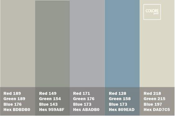 colore grigio azzurro pareti - Cerca con Google