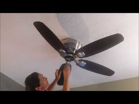 Quorum 52 Quorum Classic Ceiling Fan Installation Youtube Ceiling Fan Ceiling Fan Installation Fan