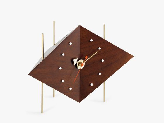 The Diamond Clock is a rather classic approach to the design of a clock.