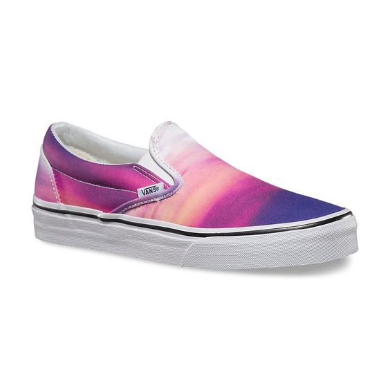 Vans Classic Slip-On Womens Shoes () Sizes 5-11 Sunset Purple : Free Shipping