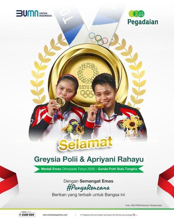 Greysia & Apriyani