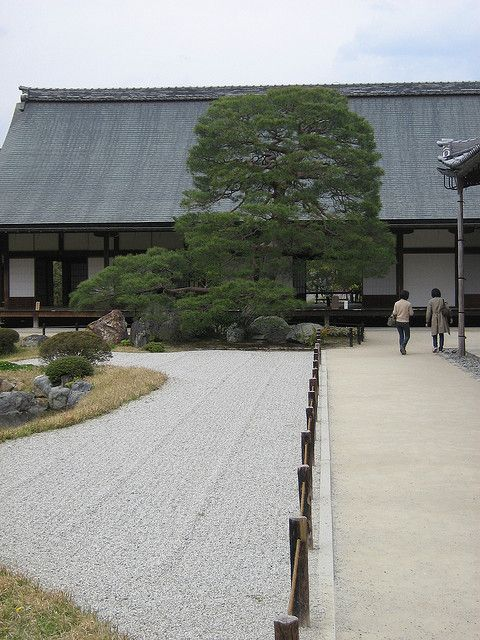 Meditation Hall at Tenryuji Temple by Gavin Anderson on Flickr.