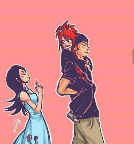 Rukia Renji and Ichika