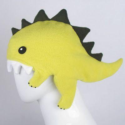 Gorro de dinosaurio todo cute | La Guarida Geek