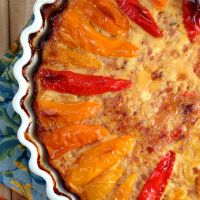 Sweet Pepper Quiche Food and Fitness Adventures | Grok Grub