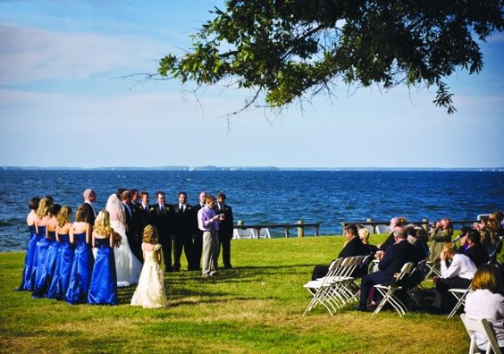 By the Bay: Kristen & Rich in St. Michael's, MD | Wedding Planning, Ideas & Etiquette | Bridal Guide Magazine