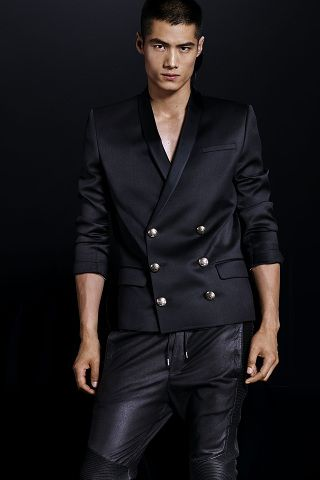 H&M x Balmain: Menswear Lookbook | Hola Prometeo!