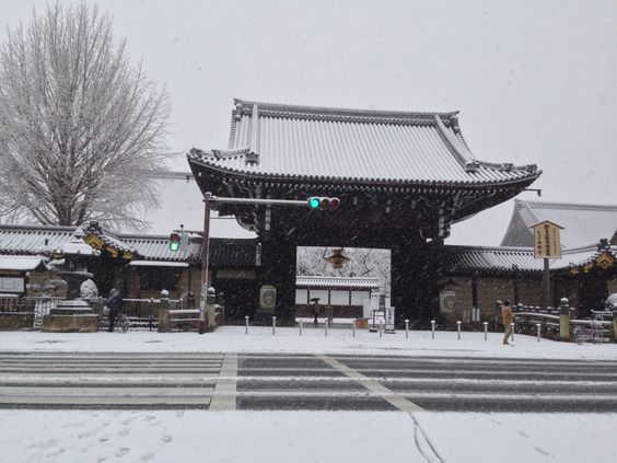 西本願寺(世界文化遺産) Nishi-Honganji Temple (World Heritage) 2015.01.01