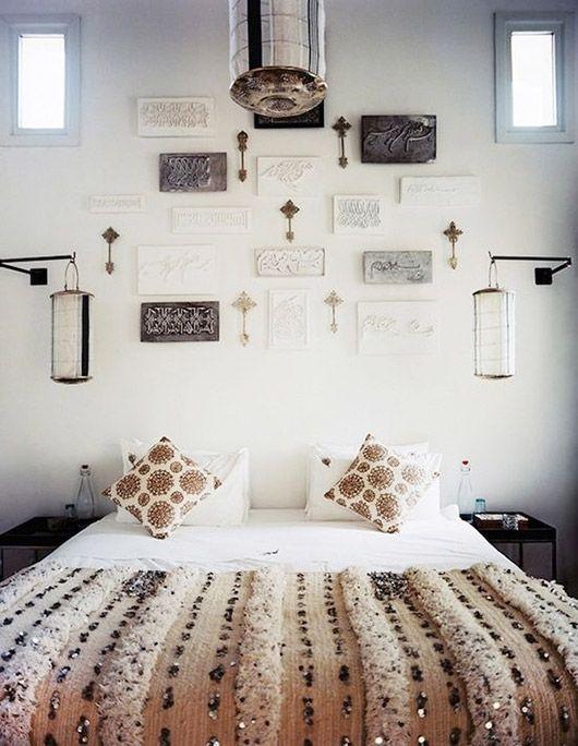 Modern Moroccan Get The Look Moroccan Bedroom Bedroom Decor