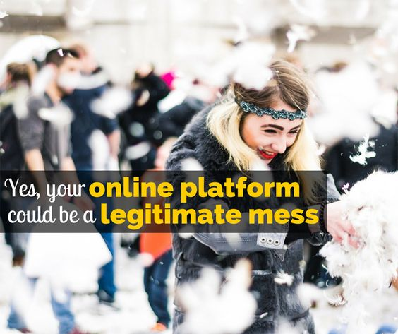 Yes, Your Online Platform Could Be a Legitimate Mess. Blog clean up and maintenance tips