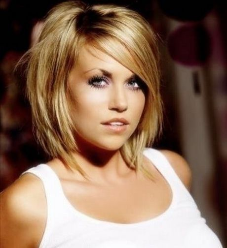 coiffure femme ronde
