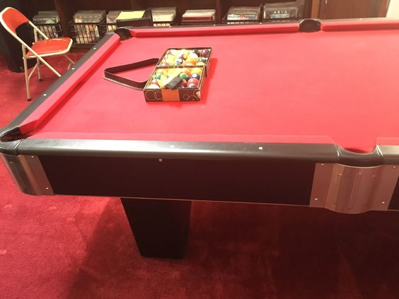 Steepleton Billiards Pool Table 8'