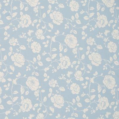 Meadow Fabric Roll End Powder Blue 1.6m BACK DOOR