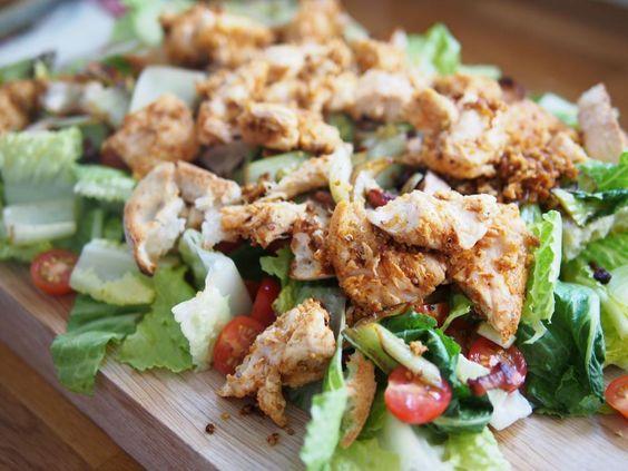 Quinoa Caesar Salad & Iced Tea | foodstuff | Pinterest | Caesar Salad ...